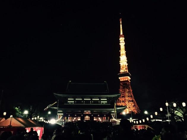 2016 増上寺